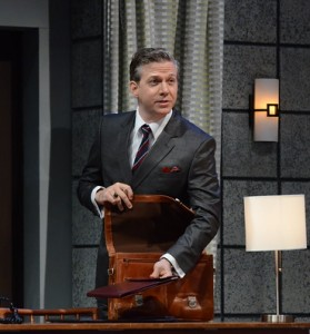 Ashley Smith as Tony Wensice in Dial 'M' For Murder. (Stan Barouh