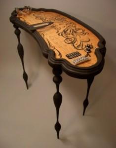 Ouija board steel guitar (Pinterest)