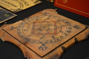 Ouija board from the collection of Robert Murch. (Rebecca Smith)