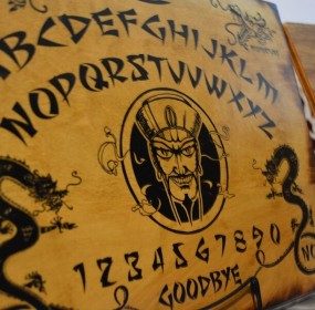 Zozo ouija board (Rebecca Smith)