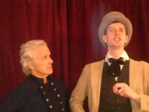 Mr. Curtis and Mr. Riker in the New Old Theatre production of Our American Cousin. (courtesy)