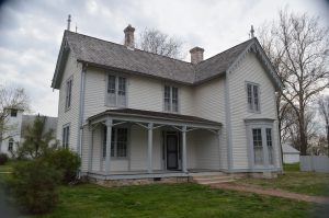 The Gen. John J. Pershing Boyhood Home in Laclede, MO. (Anthony C. Hayes)