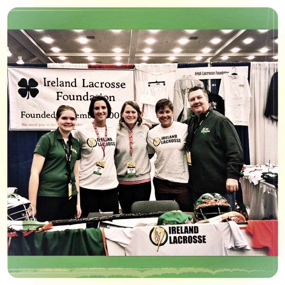 Several members of the Ireland Lacrosse women's side (T. Flynn)