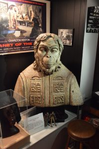 The Blob caretaker Wes Shank owns The Lawgiver bust from Planet of the Apes. (Anthony C. Hayes)