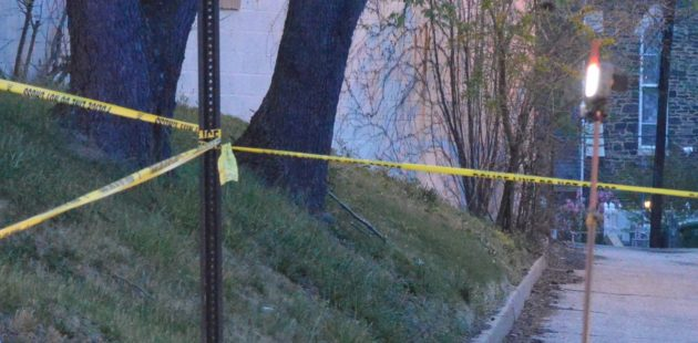 Baltimore police crime scene tape credit Anthony C. Hayes