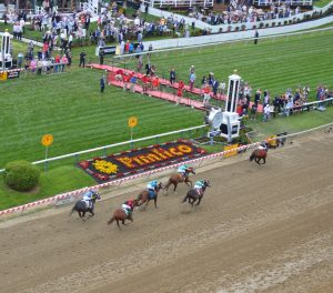 Pimlico Race Course in Baltimore, Maryland. (Anthony C. Hayes)