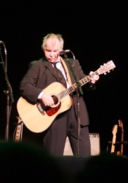 John Prine telling stories and singing his classics at the Washington Theatre.