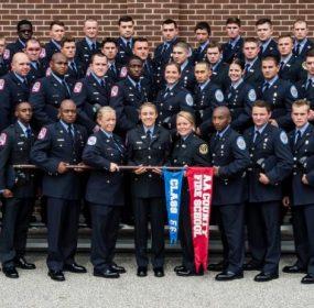 Anne Arundel County Fire Department Graduates 56 th Recruit Class