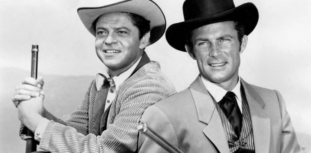 Dashing, Daring, Debonair by Herbie J Pilato features iconic actors like Ross Martin and Robert Conrad. (Wikimedia)