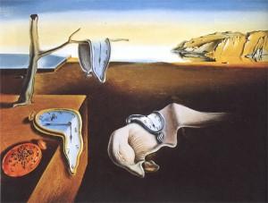 Salvador Dali - The Persistence of Memory.