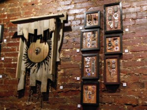 Reclaimed art by Mark S. Sanders.  (Anthony C. Hayes)