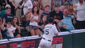 Kyle Seager's 9th Inning catch
