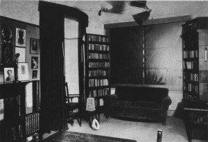 Séance room at the National Laboratory of Psychical Research.