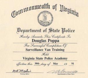 State Police Surveillance