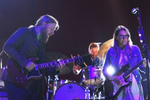 Jam band power couple Susan Tedeschi and Derek Trucks led their 12-piece ensemble through one of the best performances of the weekend as Friday night's headlining act on the Grandstand stage.