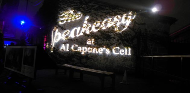 The Speakeasy at Al Capone's Cell is one of the attractions of Terror Behind The Walls at Eastern State Penitentiary(credit Anthony C. Hayes)
