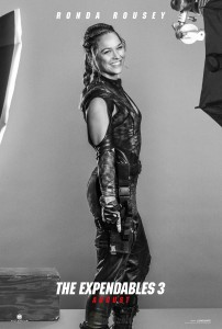 "UFC champion Ronda Rousey is as good in 'The Expendables 3"" as she is in the octagon. (Courtesy of Lions Gate)"