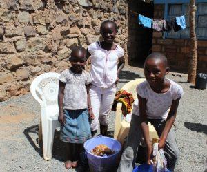 Children at the Zion Institute International in Nairobi, Kenya.