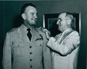 "President Harry S. Truman charged Robert Landry to, ""find out what the Hell is going on""."