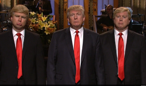 """""""You can almost hear the Donald saying, 'please somebody make fun of me!'"""" said Thomas J. Madden, former VP at NBC (screenshot from nbc.com)"""