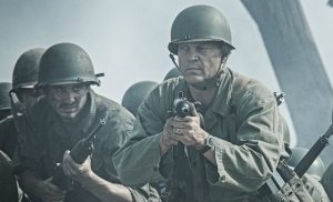 Vince Vaughn is on target as Sgt. Howell in Hacksaw Ridge.
