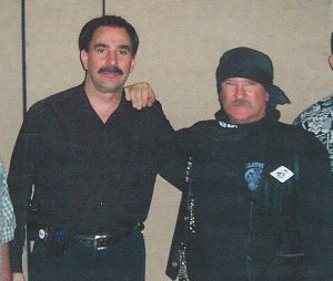 Doug Poppa with legendary under cover ATF Special Agent William Queen