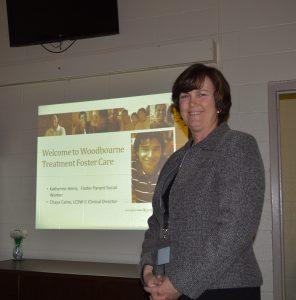 Katherine Ziegler Heinz - Foster Parent Social Worker for Woodbourne Center. (Anthony C. Hayes)