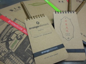 Write Notepads & Co. manufactured over 10,000 old style notebooks last year. (Anthony C. Hayes)