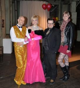 Paco Fish, Kay Sera, Hot Todd Lincoln and Heather KM Raugh