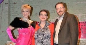 Kay Sera, Janelle Smith and Ed Bradshaw