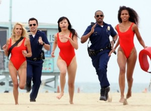 The running on the beach scene - might be a subtle hint to run from this movie. (Publicity photo)