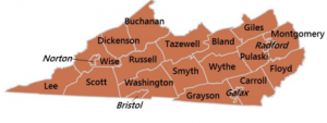 Virginia's southwestern corner is the state's most reliably Republican region (Photo credit: The Cooper Weldon Center for Public Service)