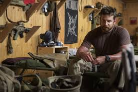 Bradley Cooper plays the late Chris Kyle, one of the most decorated and lethal marksmen in U.S. history, in American Sniper.(Courtesy of Warner Bros.)