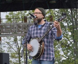 Ampersand Stringband's Jason Zeckowski