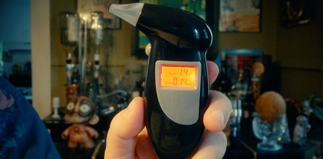 Leonard Kinsey tested the Emerywood breathalyzer
