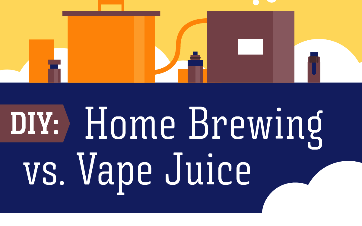 Create Unique Pairings with Home Brew and Vape Juice