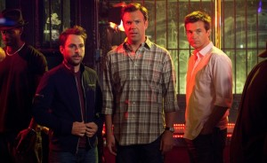 Charlie Day, Jason Sudeikis and Jason Bateman are just as offensively funny in Horrible Bosses 2 as they were its predecessor. (Courtesy of Warner Bros.)