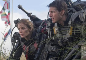 """Tom Cruise and Emily Blunt shine in """"Edge of Tomorrow."""" (Courtesy of Warner Bros.)"""