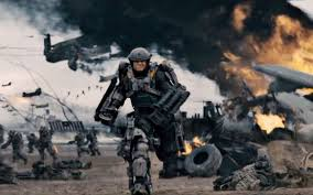 """Tom Cruise delivers his best work since 1996's """"Jerry Maguire"""" in """"Edge of Tomorrow."""" (Courtesy of Warner Bros.)"""