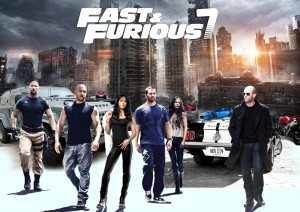 Furious 7 should win the Oscar for best picture, Vin Diesel, the movie's star, said. (Universal)