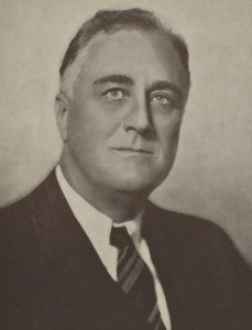 President Franklin D. Roosevelt. (NY Public Library)