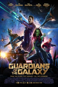 """Can """"Guardians of the Galaxy"""" put up a fight at the box office against fellow Marvel comic heroes """"The Avengers?"""" """"Guardians"""" is one of the most fun movies you'll see this summer, especially if viewed in 3D. (Courtesy of Marvel)"""