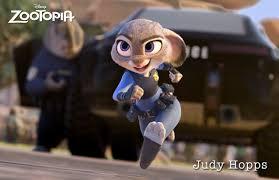 Zootopia's first bunny cop, Judy Hopps. (Disney)