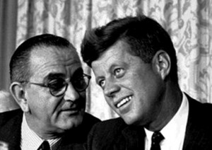 JFK and LBJ needed each other. (Public Domain)
