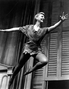 Broadway star Mary Martin is best remembered for her role as Peter Pan.