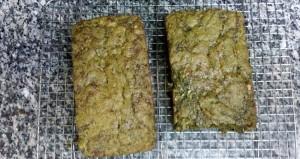 Zucchini Bread with Moringa Tea.