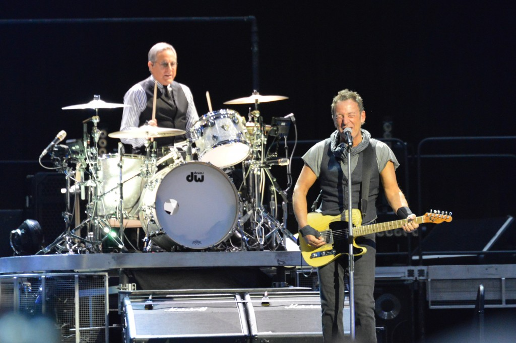Bruce Springsteen's energy rocked Baltimore. (Chris Swanson))
