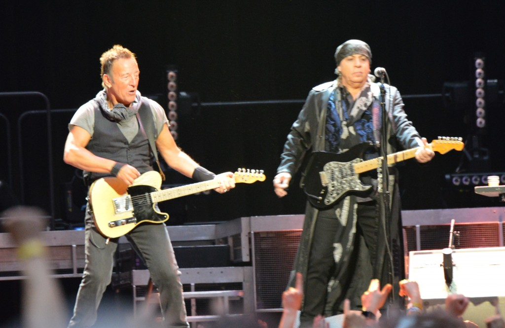 The Boss and Little Steven rocking Royal Farms Arena (All photos by Chris Swanson)
