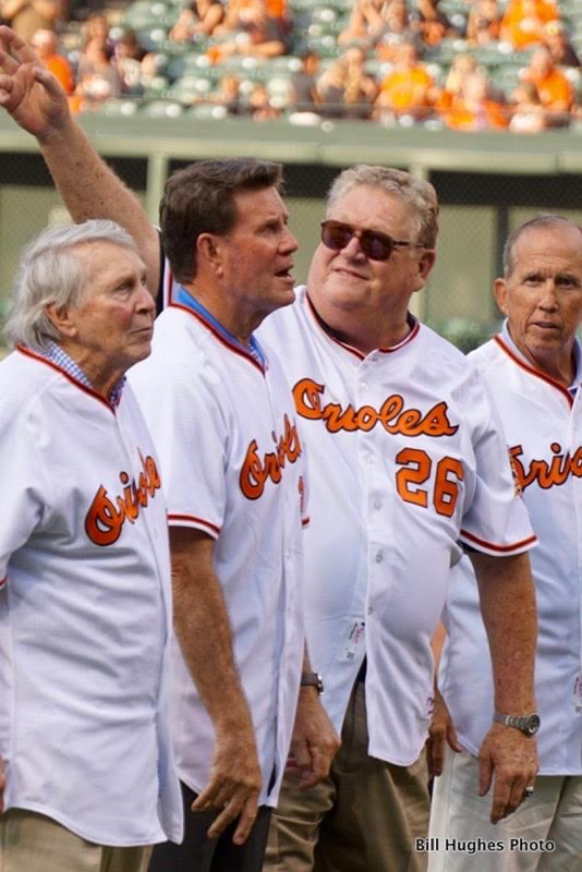 Jim Palmer, Boog Powell and Davey Johnson wondering why they can't be the DH.