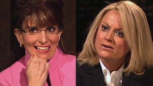 Fey's Palin and Poehler's Couric (NBC.com)